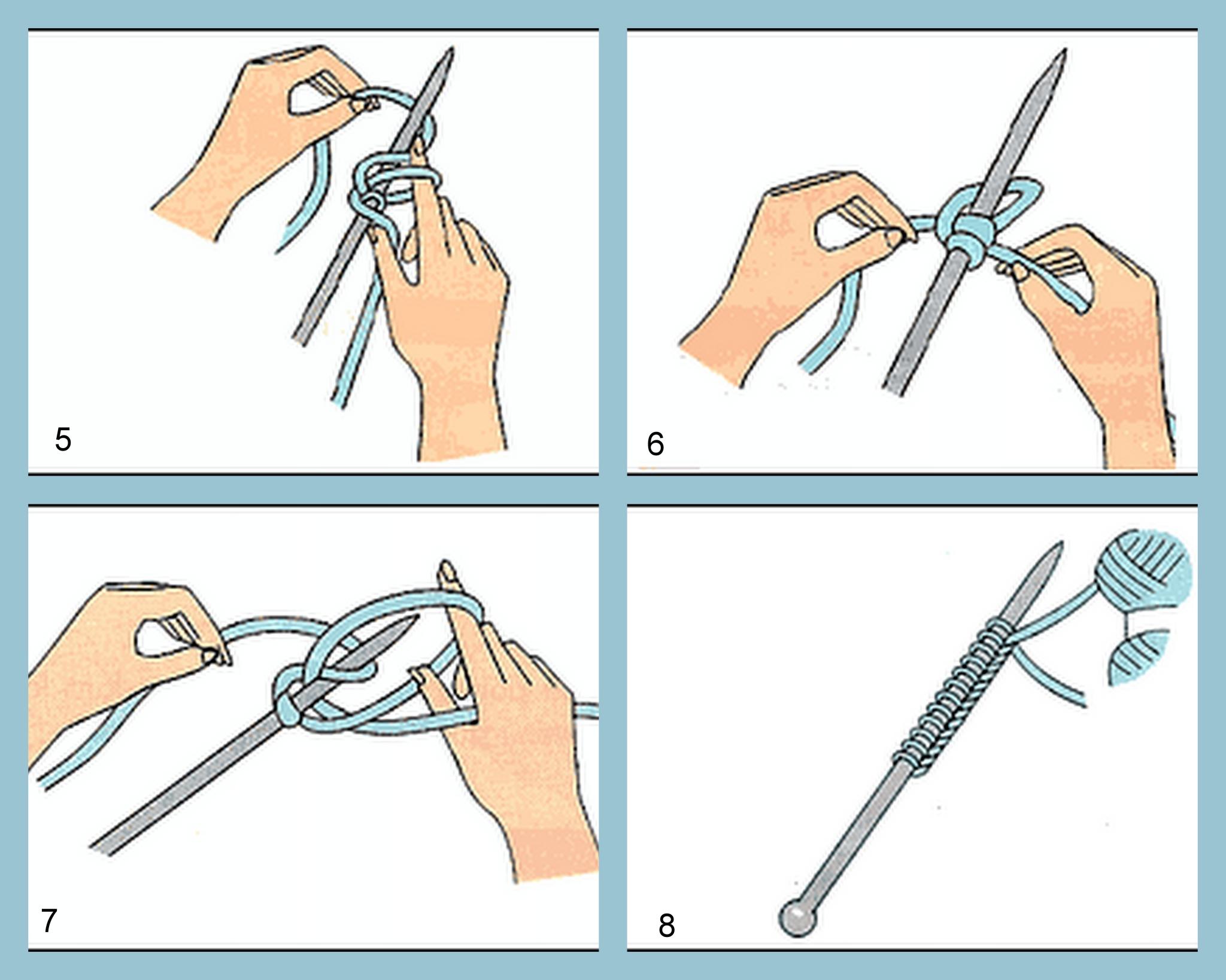comment commencer le tricot