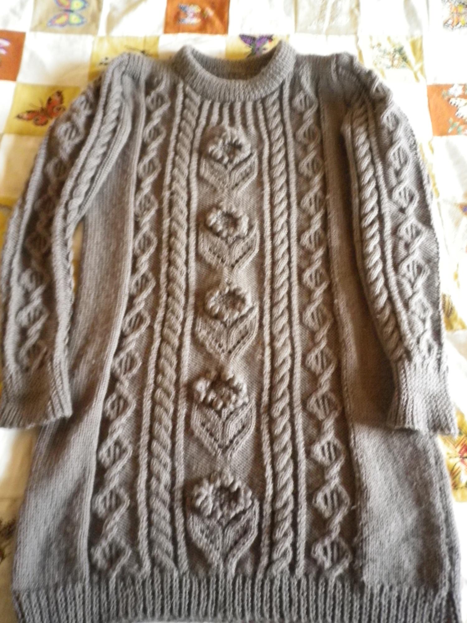 explication point irlandais tricot