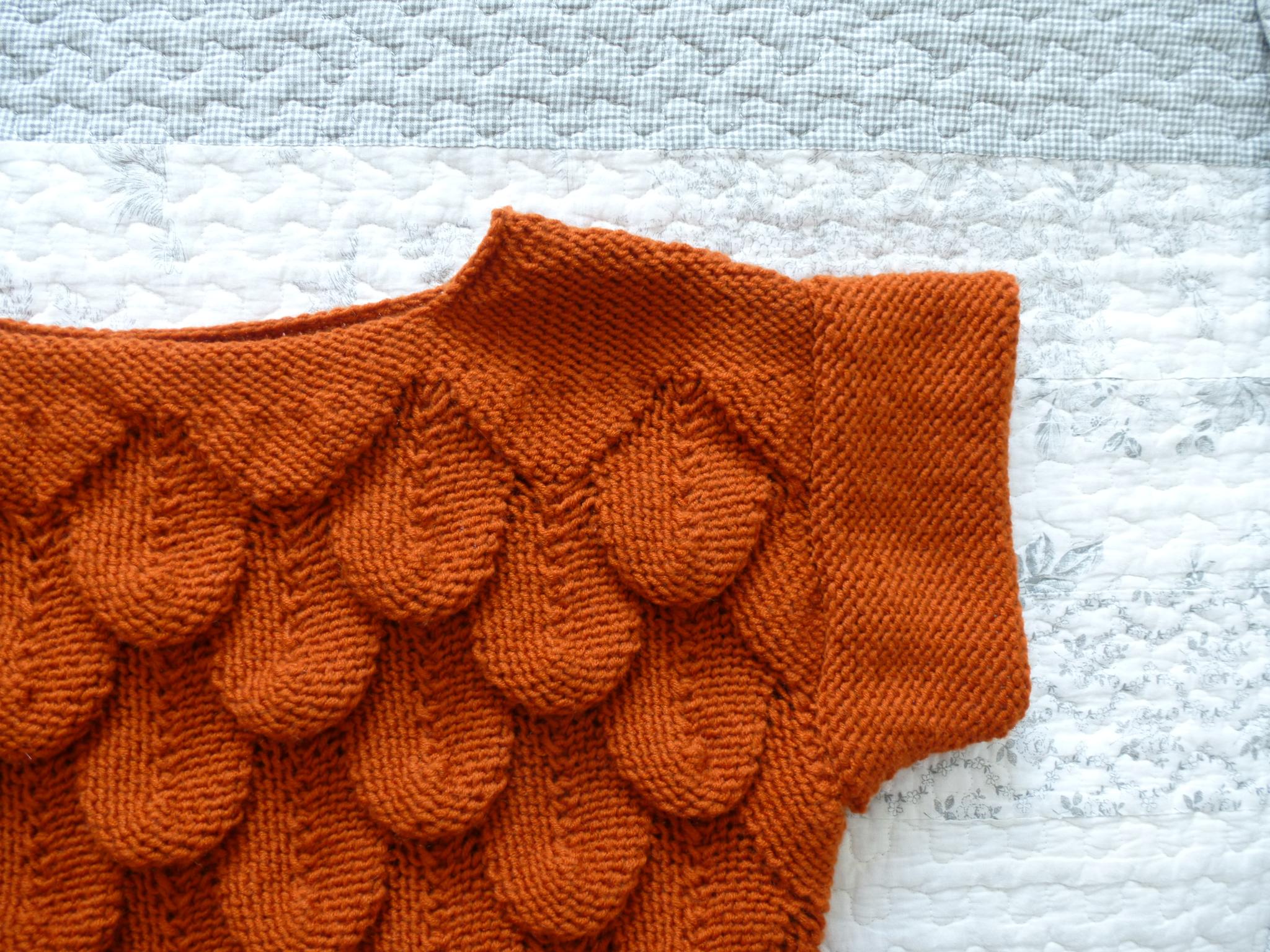 tricoter en relief