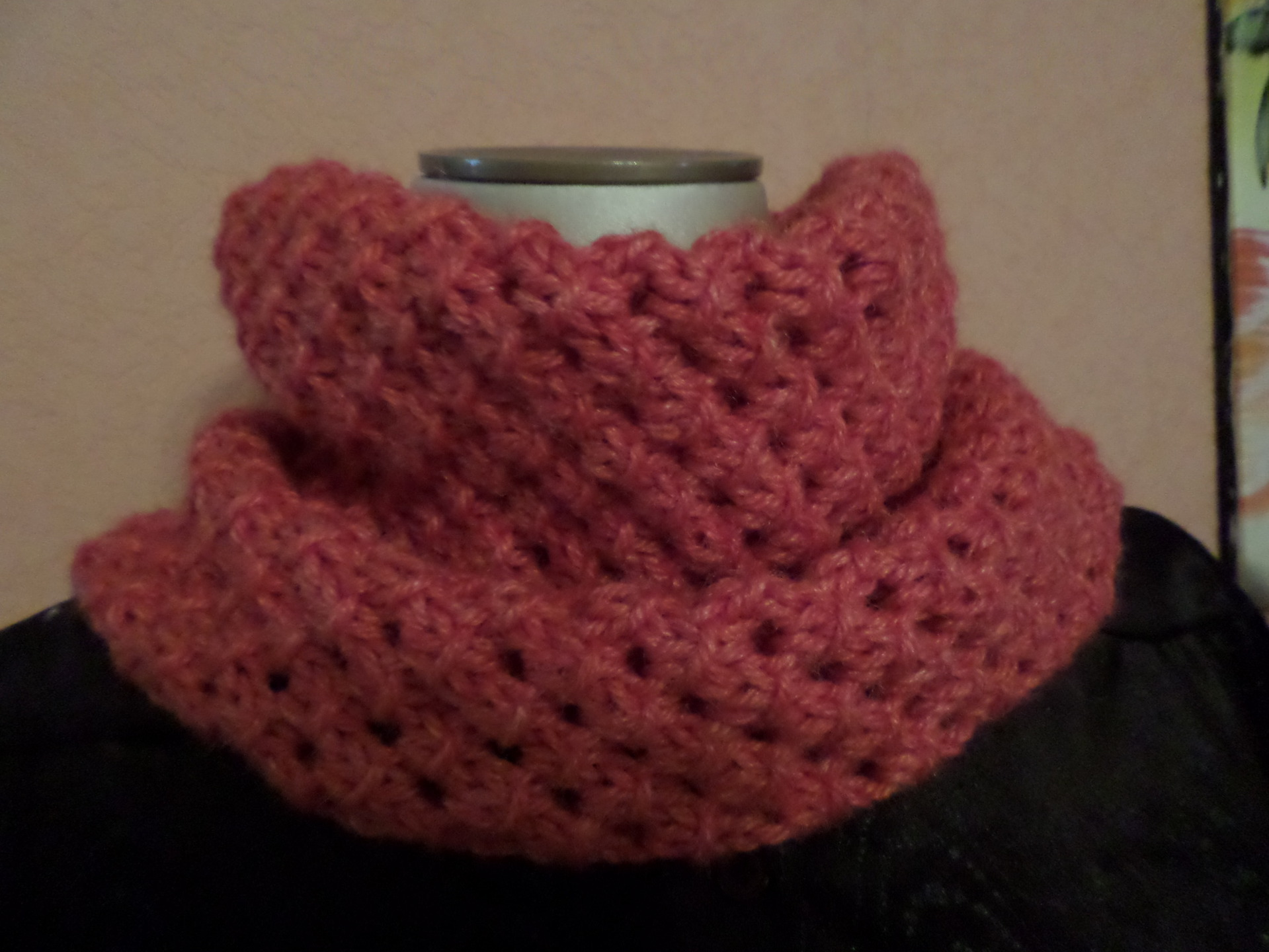 tricoter un snood point fantaisie
