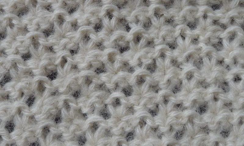 5e920236e84 Point fantaisie tricot facile - i love tricot