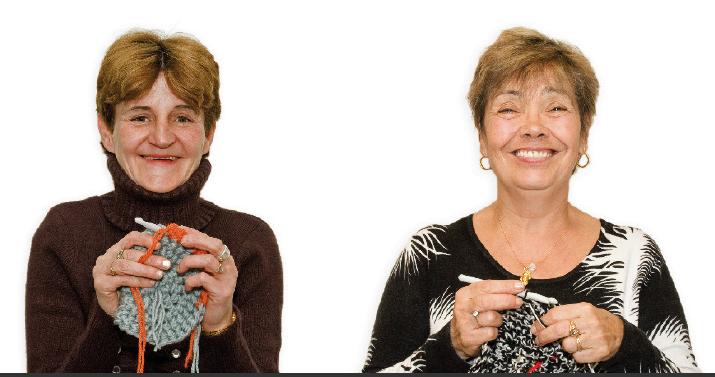 Mamie tricoteuse - i love tricot