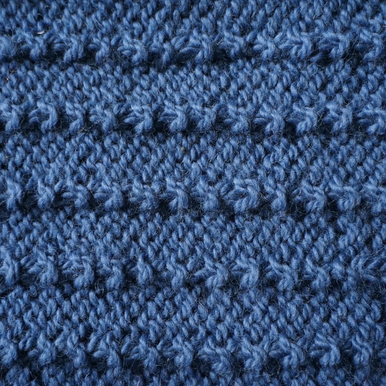 b30c460d7be3f Point fantaisie pour echarpe - i love tricot