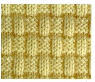 07b1dd2fe48 Point de tricot fantaisie facile - i love tricot