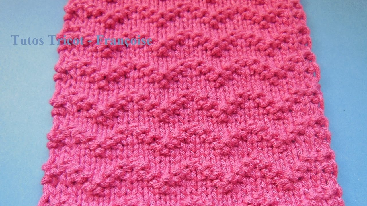 6321af8a036 Point fantaisie facile tricot - i love tricot