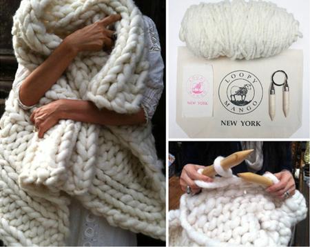 tricoter un plaid en grosse laine i love tricot. Black Bedroom Furniture Sets. Home Design Ideas