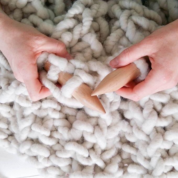 plaid grosse maille tricot i love tricot. Black Bedroom Furniture Sets. Home Design Ideas
