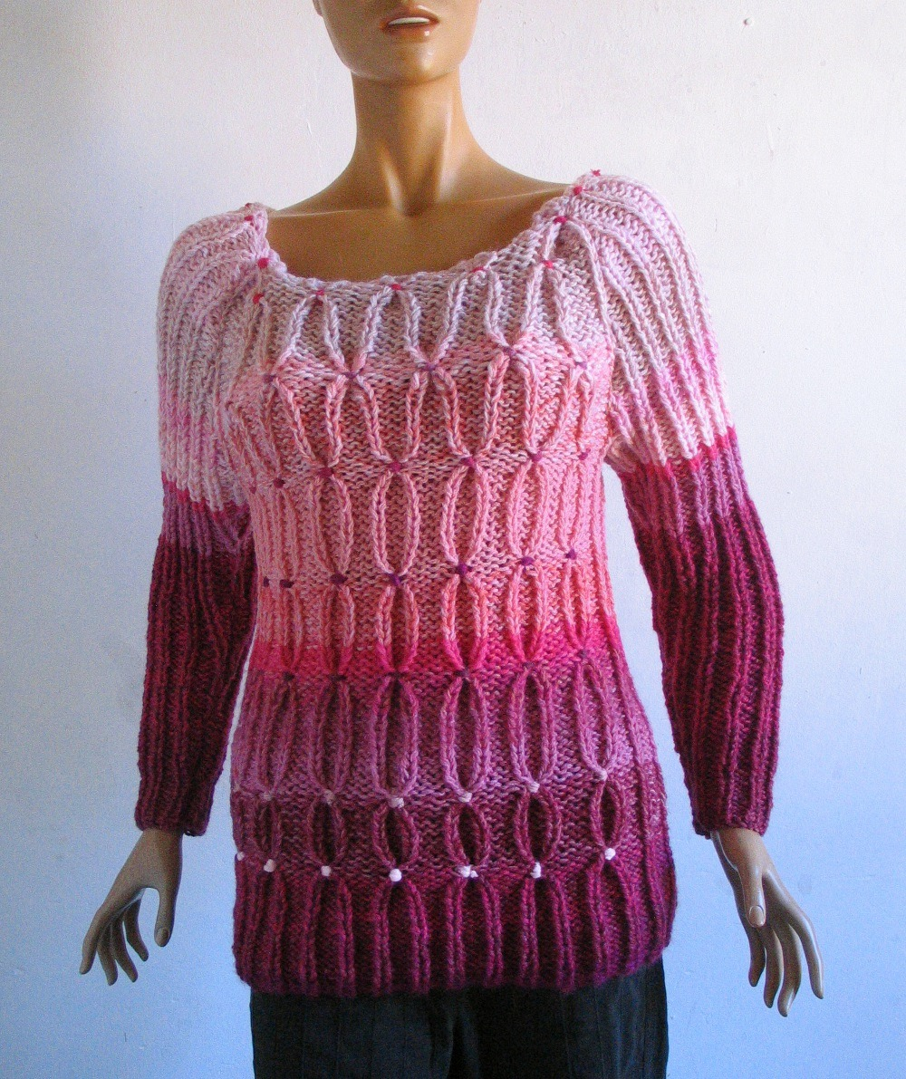 tricot laine epaisse i love tricot