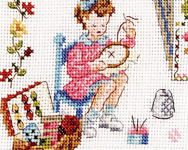 Le point de croix - i love tricot