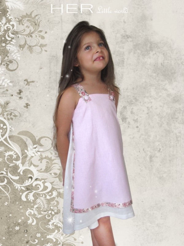77e06e5795b54 Patron couture gratuit robe fille 3 ans - i love tricot