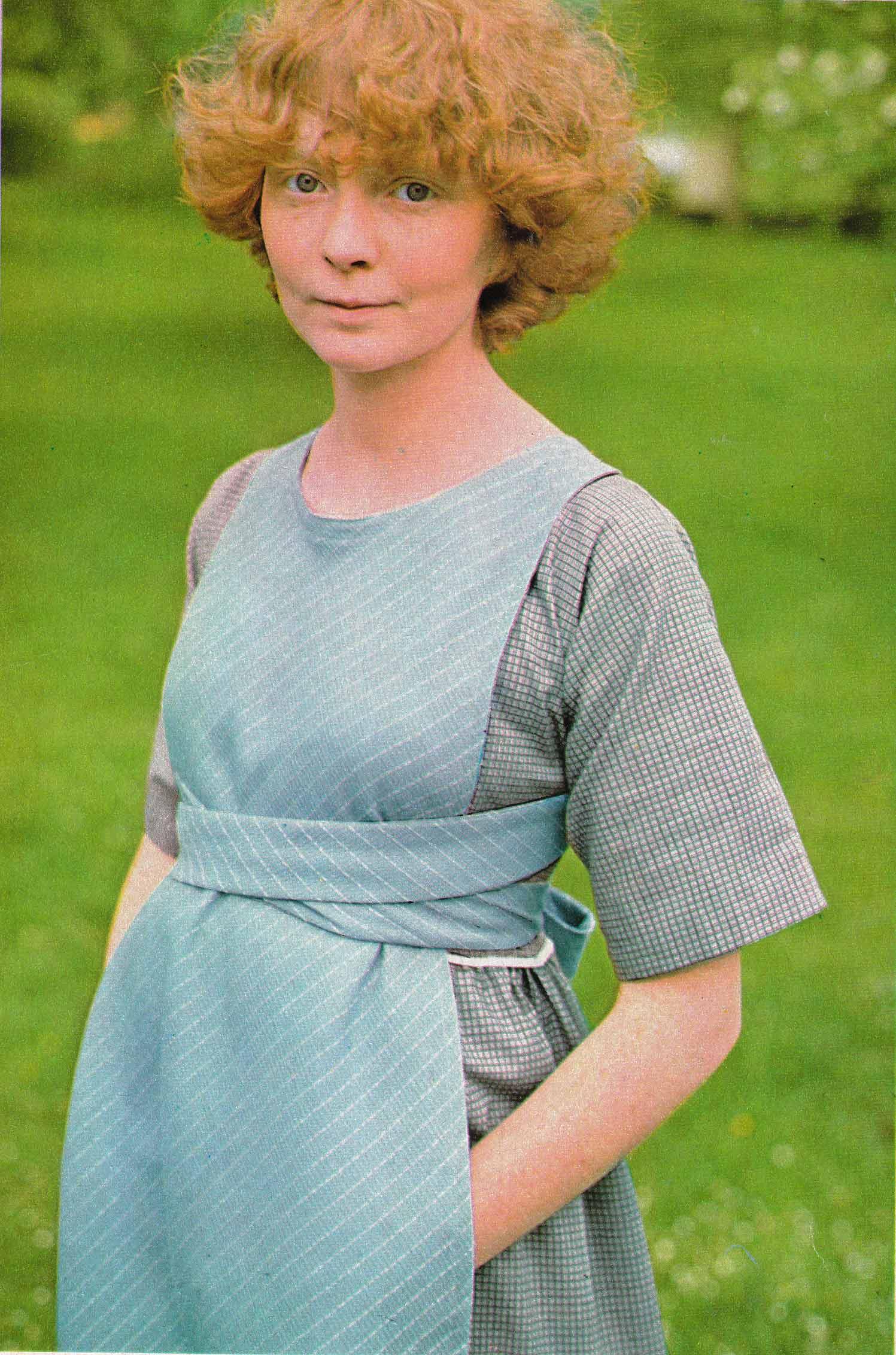 Patron robe tablier femme gratuit - i love tricot